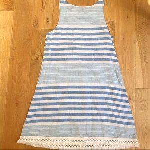 Vineyard and Vines Blue & White Striped Sundress